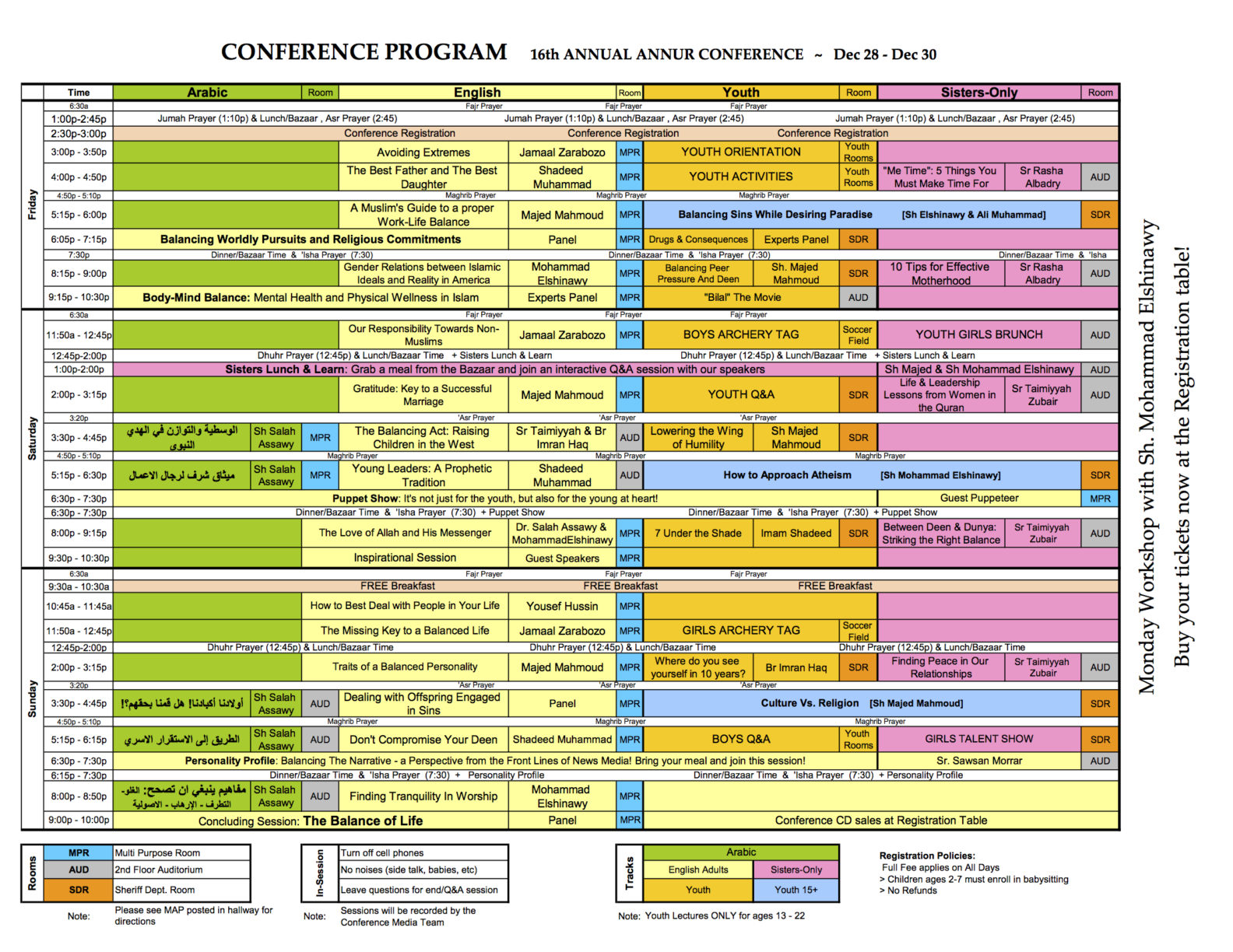 Annur16th Conference schedule_v.8